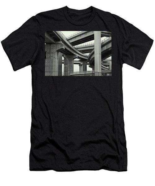 Nippon Super Expressway -- Kansai Japan Men's T-Shirt (Athletic Fit)