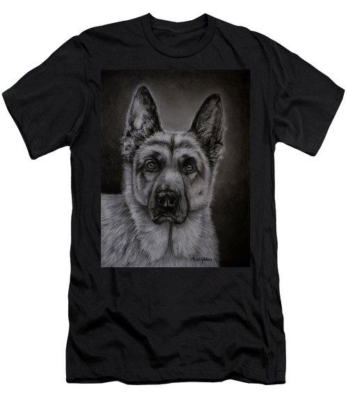 Noble - German Shepherd Dog  Men's T-Shirt (Athletic Fit)