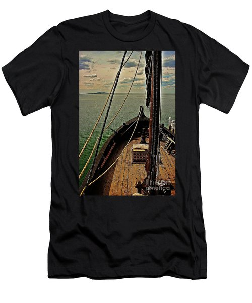 Notorious The Pirate Ship 6 Men's T-Shirt (Athletic Fit)
