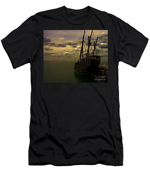 Notorious The Pirate Ship Men's T-Shirt (Athletic Fit)
