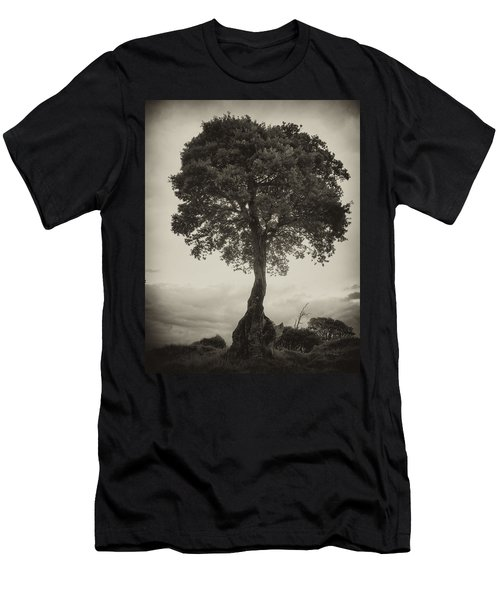Men's T-Shirt (Slim Fit) featuring the photograph Oak Tree by Hugh Smith
