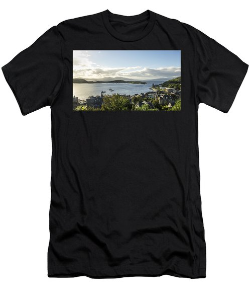 Oban Bay View Men's T-Shirt (Athletic Fit)