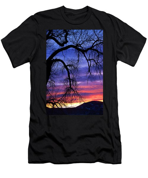 Men's T-Shirt (Slim Fit) featuring the photograph Obeisance by Jim Garrison