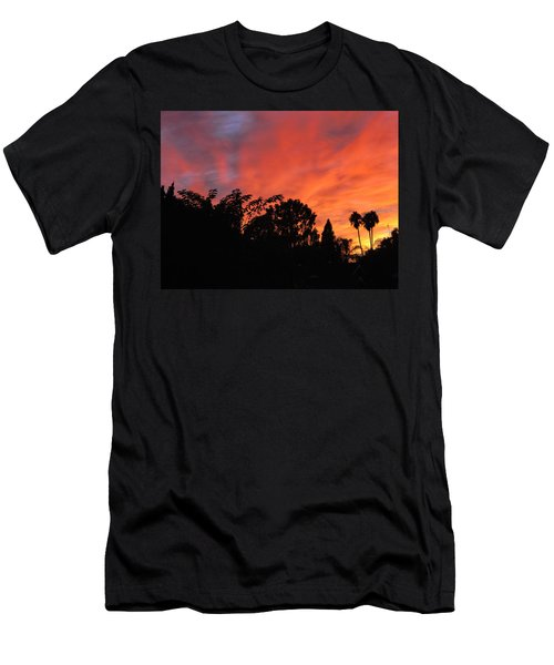 October Sunset 10 Men's T-Shirt (Athletic Fit)