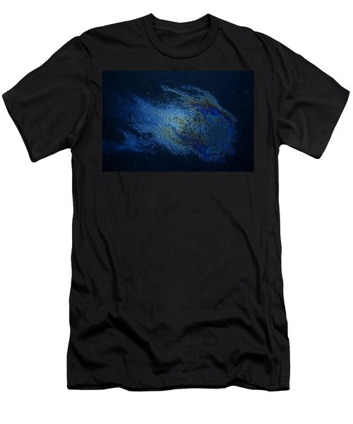 Oil On Pavement Wishcraft Men's T-Shirt (Athletic Fit)