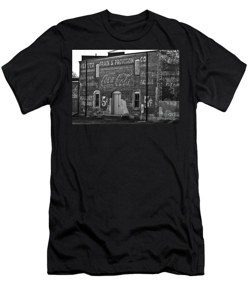 Old Building In Salisbury Nc Men's T-Shirt (Athletic Fit)