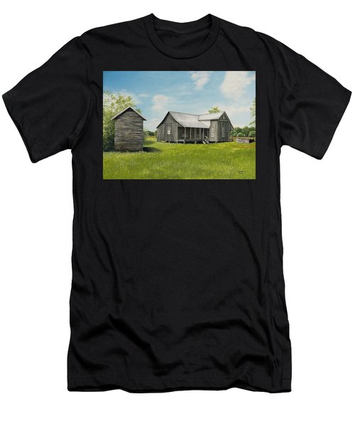 Old Clark Home Men's T-Shirt (Athletic Fit)