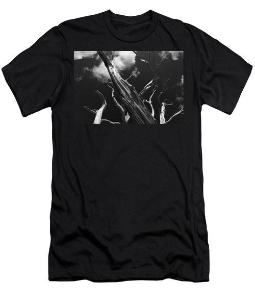 Men's T-Shirt (Slim Fit) featuring the photograph Old Tree by David Gleeson