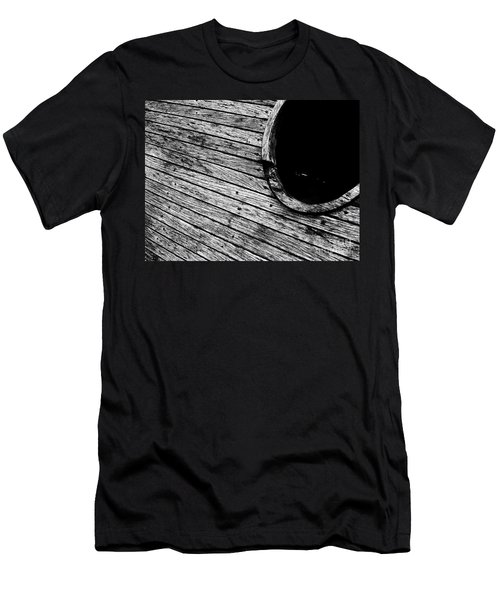 Old Wooden Boat Men's T-Shirt (Slim Fit) by Andy Prendy