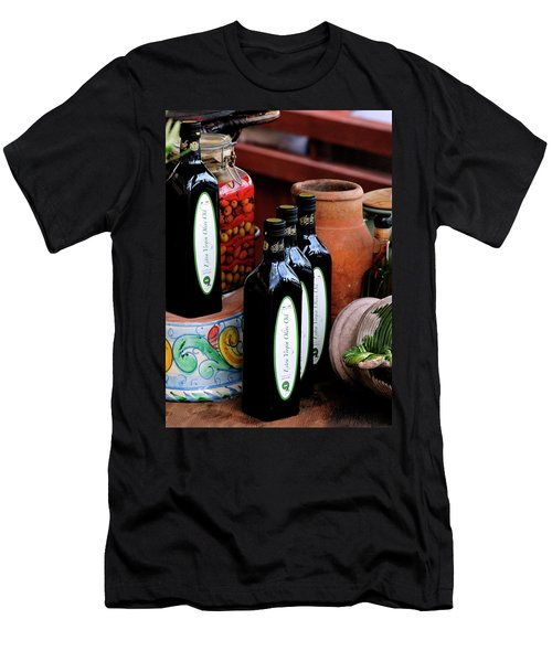 Olives And Olive Oil Men's T-Shirt (Athletic Fit)