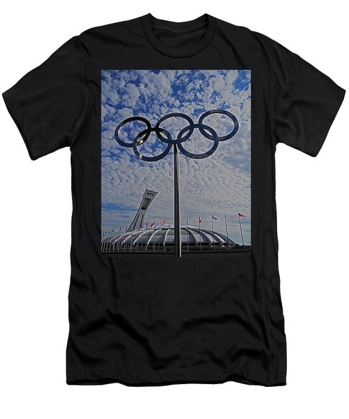 Olympic Stadium Montreal Men's T-Shirt (Athletic Fit)