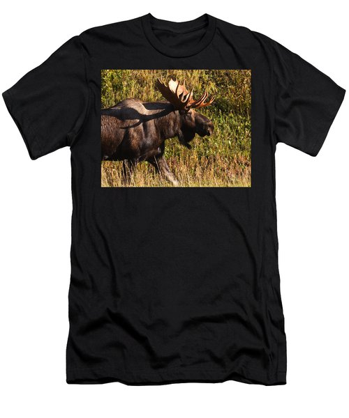 Men's T-Shirt (Slim Fit) featuring the photograph On The Move by Doug Lloyd