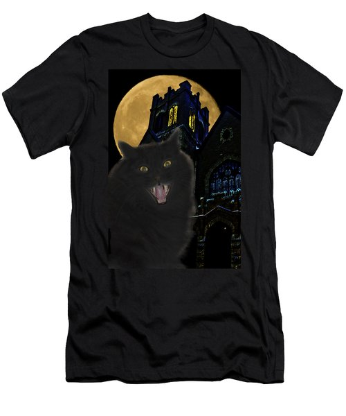 One Dark Halloween Night Men's T-Shirt (Athletic Fit)
