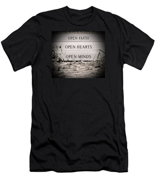 Men's T-Shirt (Slim Fit) featuring the photograph Openings by Jean Haynes