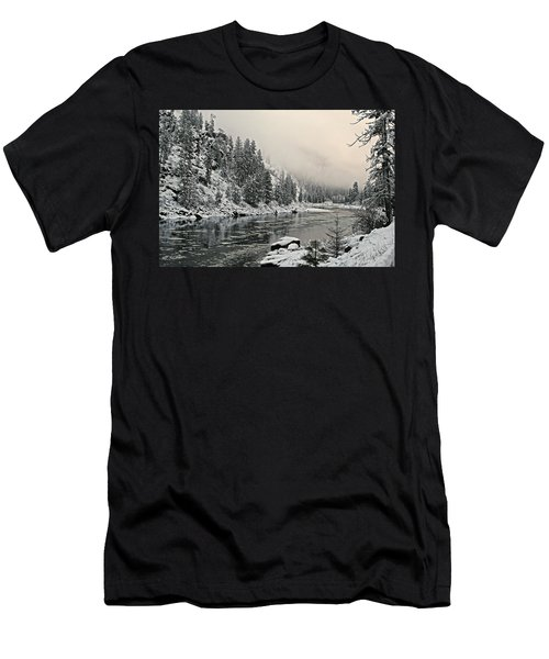 Orofino Snow Clearwater River Men's T-Shirt (Athletic Fit)