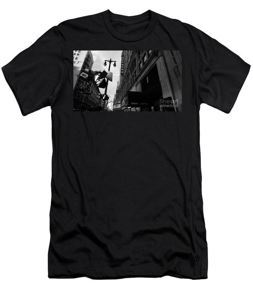 Men's T-Shirt (Slim Fit) featuring the photograph Orpheum Theater by Nina Prommer