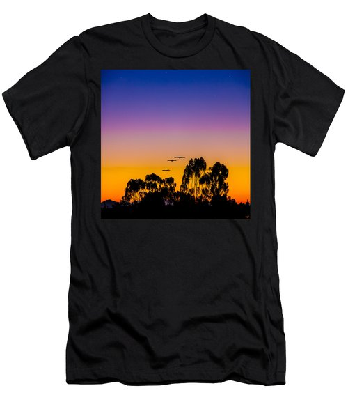 Men's T-Shirt (Athletic Fit) featuring the photograph Osibisa Dawn by Chris Lord