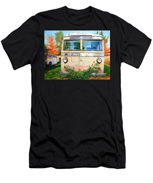 Out Where The Buses Don't Run Men's T-Shirt (Athletic Fit)