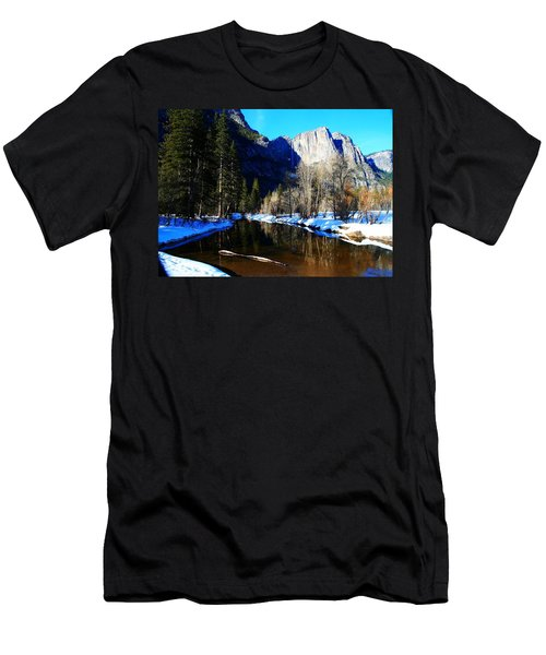 Over The Meadow Men's T-Shirt (Athletic Fit)