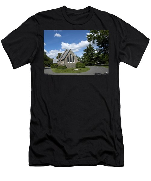 Men's T-Shirt (Slim Fit) featuring the photograph Oxford Church by Charles Kraus
