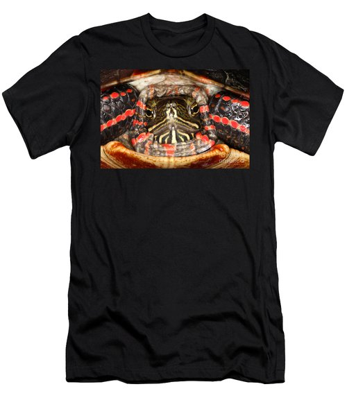 Painted Turtle Head Men's T-Shirt (Athletic Fit)