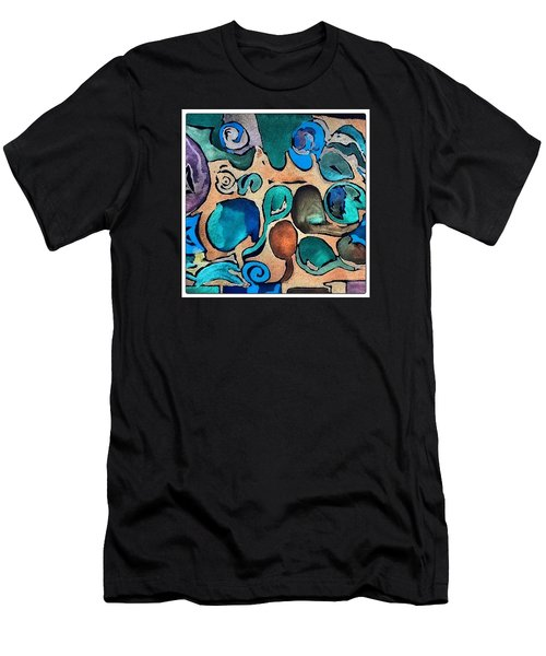 Circles Of Colors.... Men's T-Shirt (Athletic Fit)