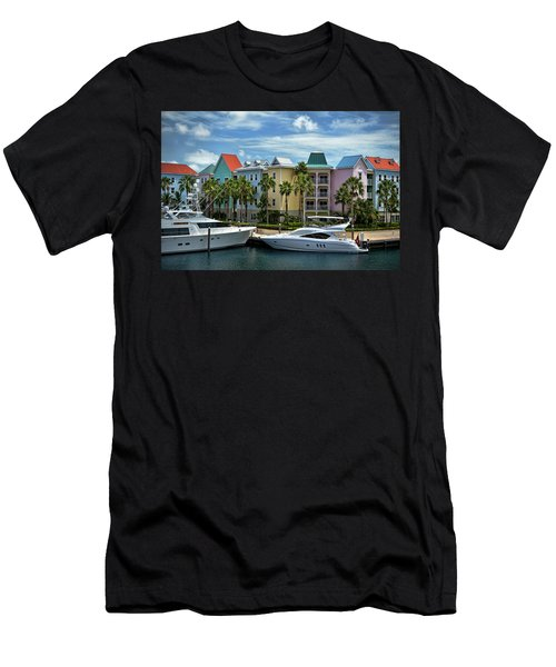 Men's T-Shirt (Slim Fit) featuring the photograph Paradise Island Style by Steven Sparks