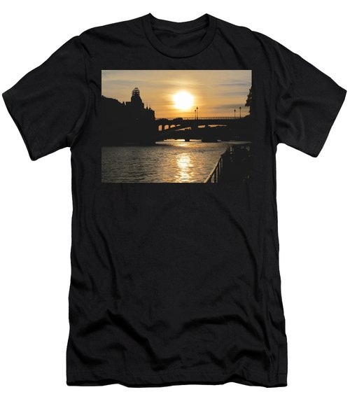 Parisian Sunset Men's T-Shirt (Athletic Fit)