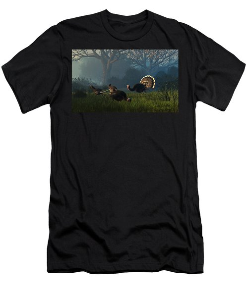Party Of Four Men's T-Shirt (Athletic Fit)