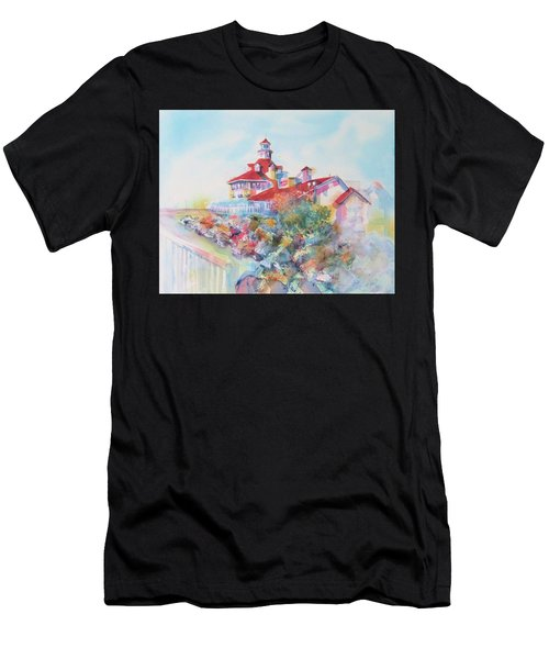 Party Time At Parker's Lighthouse Men's T-Shirt (Athletic Fit)