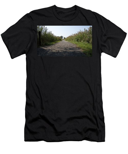 Men's T-Shirt (Slim Fit) featuring the photograph Path To The Bay by Charles Kraus
