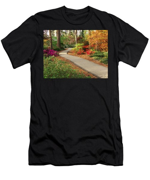 Peaceful Path Men's T-Shirt (Athletic Fit)