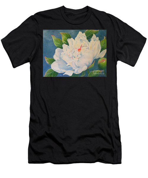 Peonies Men's T-Shirt (Athletic Fit)