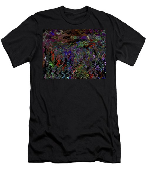 People And Faces In Different Lovely Color Places  Men's T-Shirt (Athletic Fit)
