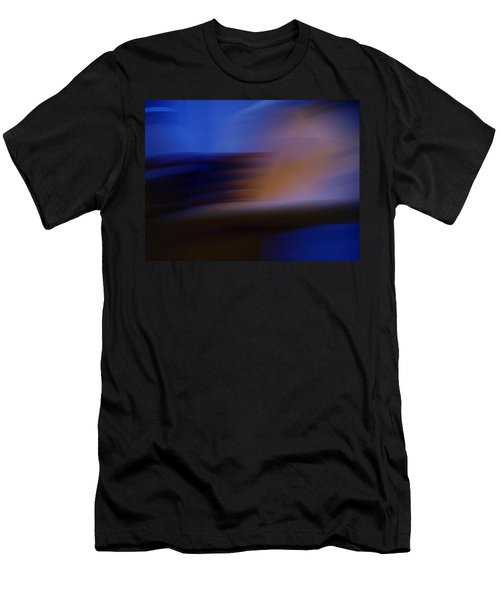 Men's T-Shirt (Slim Fit) featuring the photograph Photo Mixture Experiment by Colette V Hera  Guggenheim