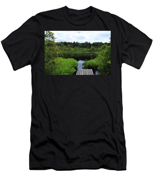 Pine Hole Pond Men's T-Shirt (Athletic Fit)