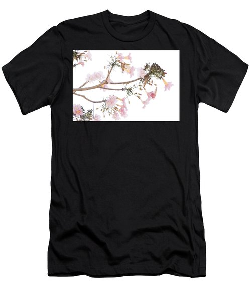 Pink Blossoms In Panama Men's T-Shirt (Athletic Fit)