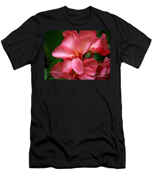 Pink Canna Men's T-Shirt (Athletic Fit)