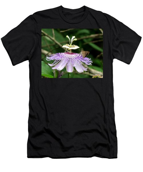 Men's T-Shirt (Slim Fit) featuring the photograph Plenty For All by Donna Brown