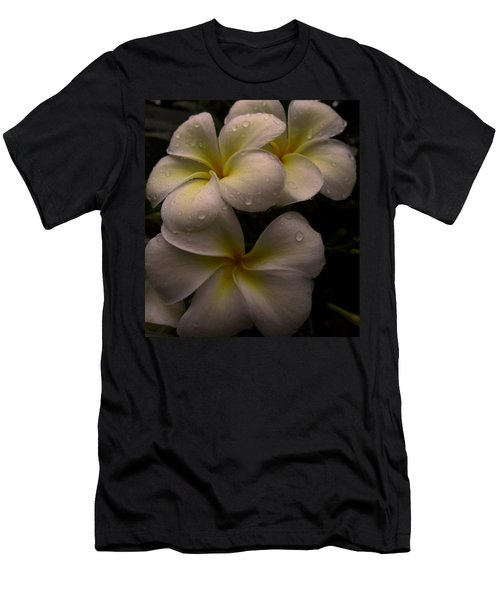 Plumeria Men's T-Shirt (Slim Fit) by Dorothy Cunningham