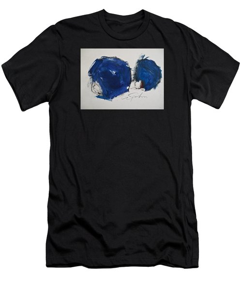 Men's T-Shirt (Athletic Fit) featuring the painting Pomp And Circumstance by Cliff Spohn