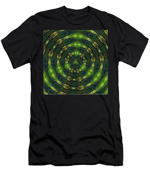 Men's T-Shirt (Slim Fit) featuring the digital art Pond Perfect by Alec Drake