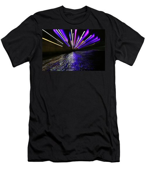 Port Slide Lightz Men's T-Shirt (Athletic Fit)
