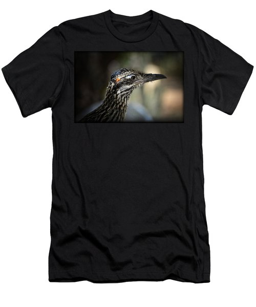 Portrait Of A Roadrunner  Men's T-Shirt (Athletic Fit)