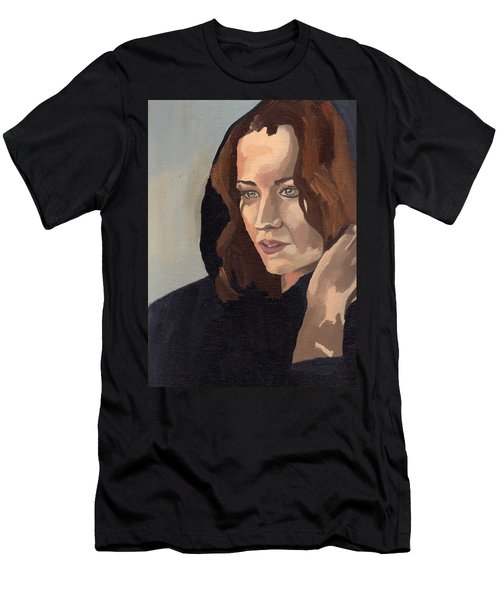 Portrait Of Becca 2 Men's T-Shirt (Athletic Fit)