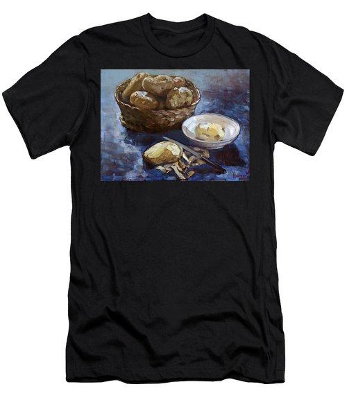 Potatoes Men's T-Shirt (Athletic Fit)