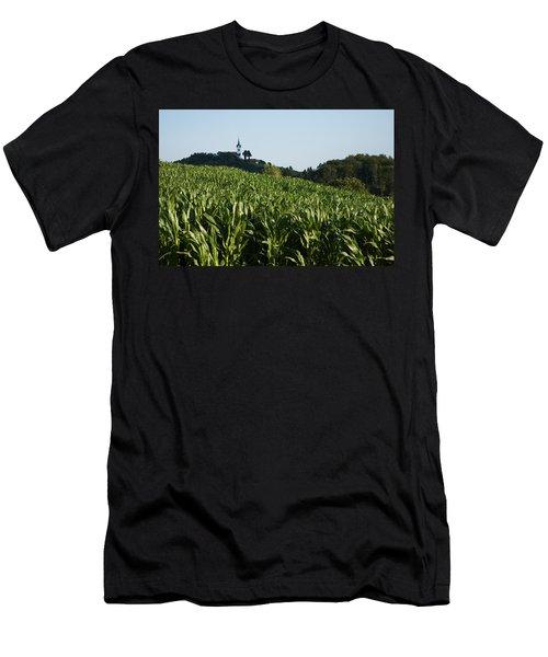 Prezganje Church Men's T-Shirt (Athletic Fit)