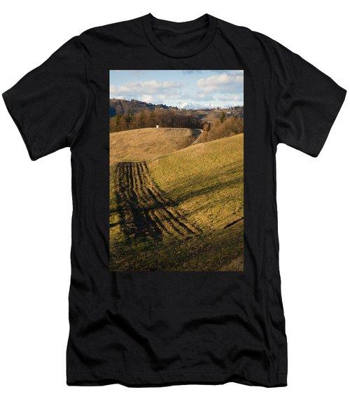 Prezganje Views Men's T-Shirt (Athletic Fit)