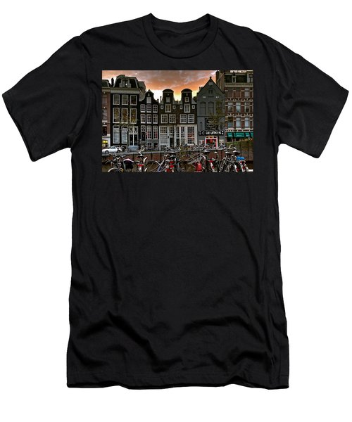 Prinsengracht 458. Amsterdam Men's T-Shirt (Athletic Fit)