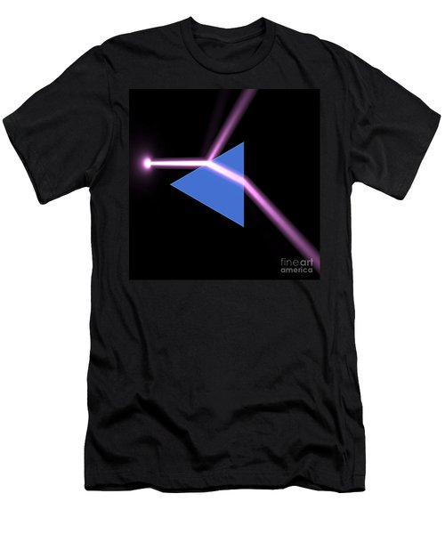 Men's T-Shirt (Slim Fit) featuring the digital art Prism 3 by Russell Kightley